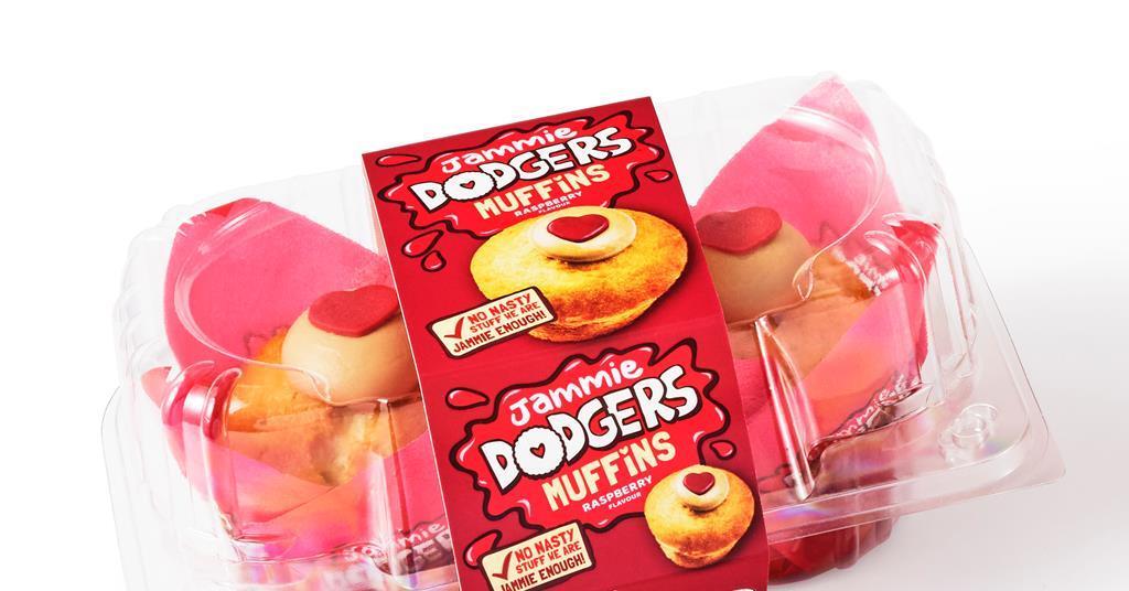 Burton S And Speedibake Team Up On Jammie Dodger Muffins News British Baker